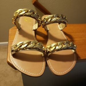 Guess chain link sandals